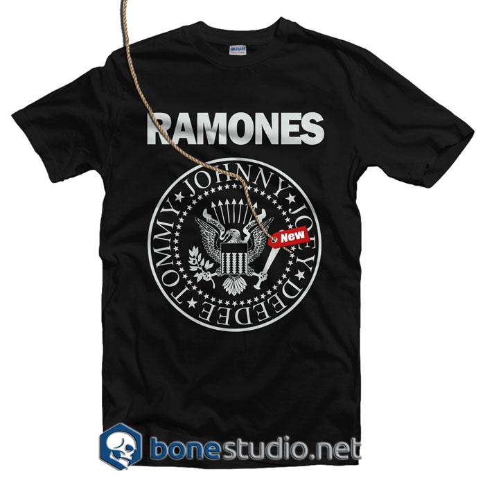 Logo Ramones T Shirt