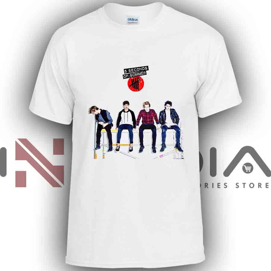 iniedia.com : Tshirt 5 Seconds Of Summer Band