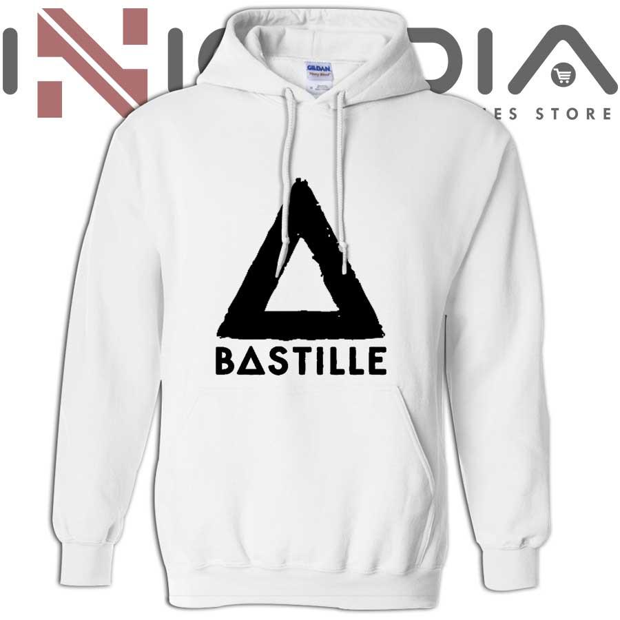 iniedia.com : Bastille Logo Cover hoodies