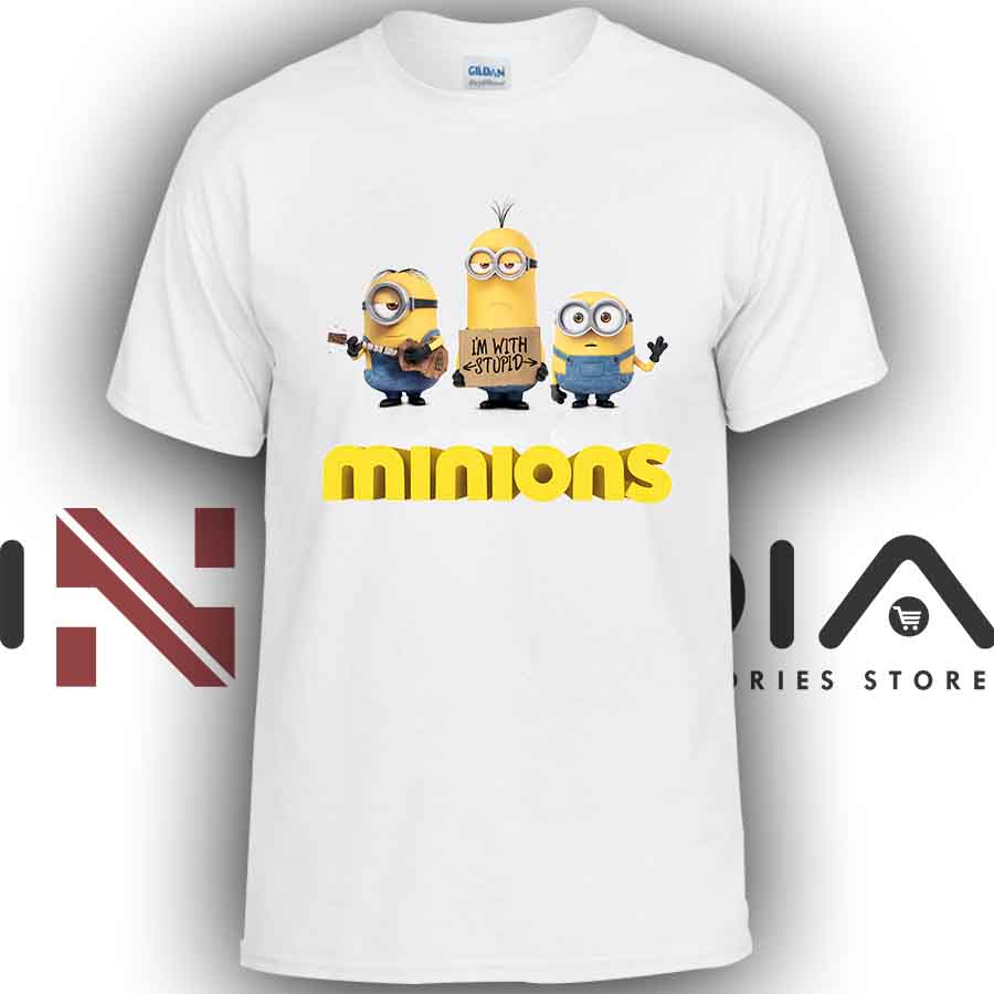iniedia.com : Tshirt Minions Movie