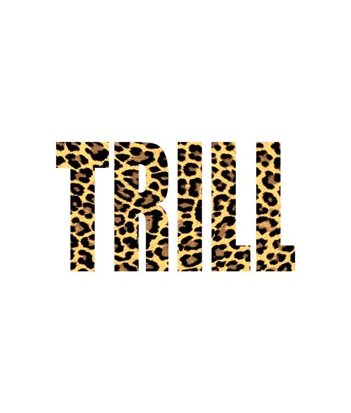 Trill Leopard T Shirt