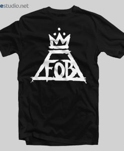 Tshirt Fall Out Boy Logo Band