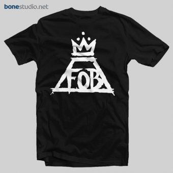 Tshirt Fall Out Boy Logo Band