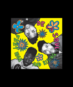 De La Soul T Shirt 3 Feet High And Rising