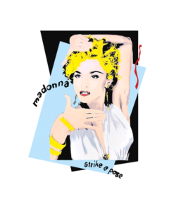 Madonna Licensed T Shirt Strike A Pose