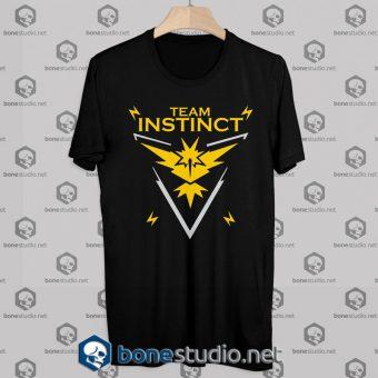 Tshirt Pokemon GO Team Instinct