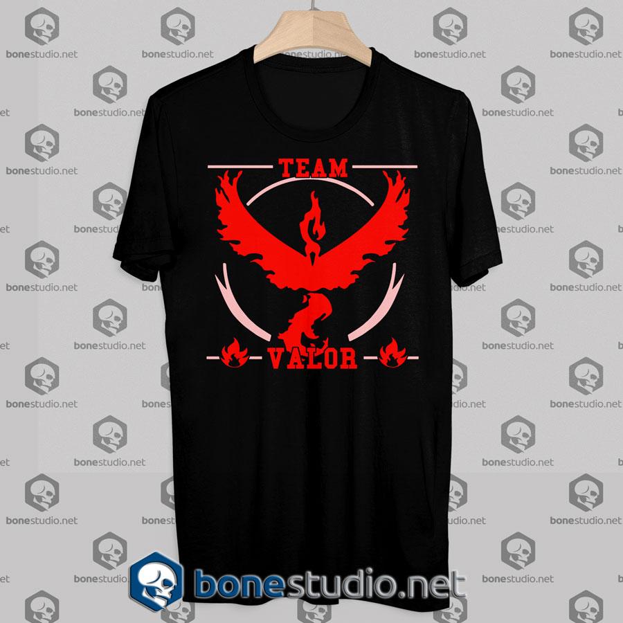 Pokemon GO Team Valor Tshirt