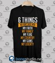6 Things You Don't Mess With Tshirt Designs Black