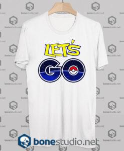 Pokemon Let's Go tshirt