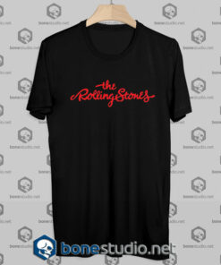 The Rolling Stones Text Tshirt