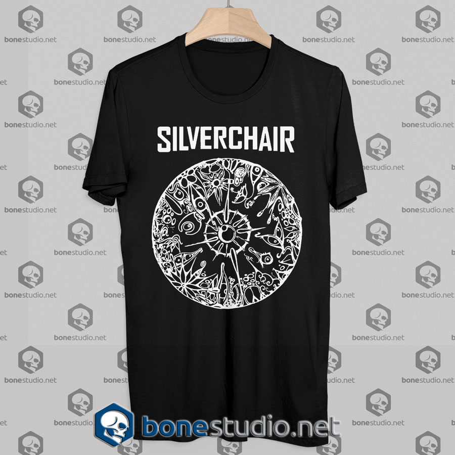 Silverchair Cover Logo Tshirt black