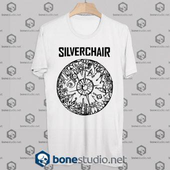 Silverchair Cover Logo Tshirt white