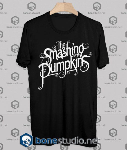 The Smashing Pumpkins Logo Cover Tshirt - Adult