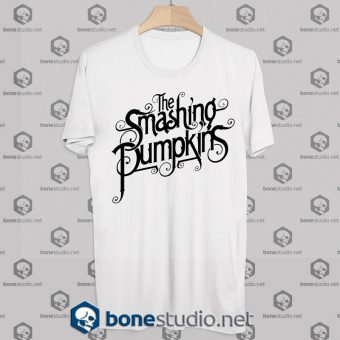 The Smashing Pumpkins Logo Cover Tshirt - Adult