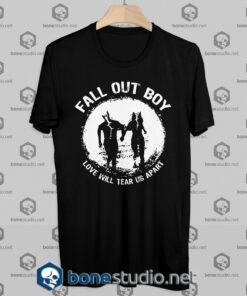 Fall Out Boy Love Will Tear Us Apart Tshirt