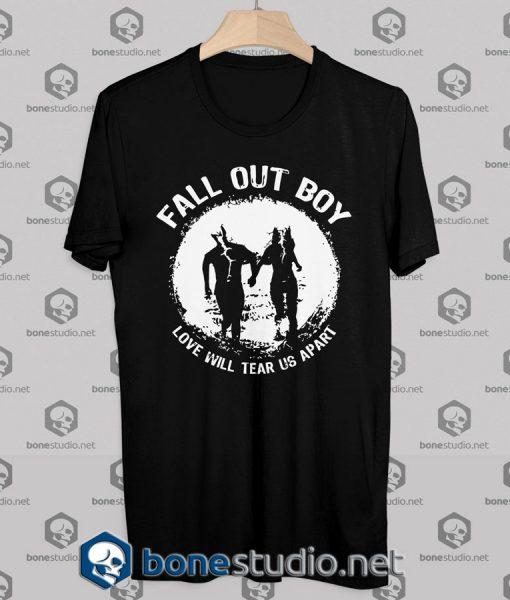 Fall Out Boy Love Will Tear Us Apart Tshirt