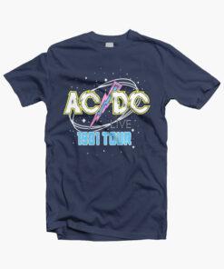 ACDC Live 1981 Tour T Shirt