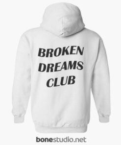 Broken Dreams Club Hoodies white back