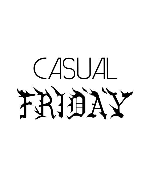 Casual Friday T Shirt