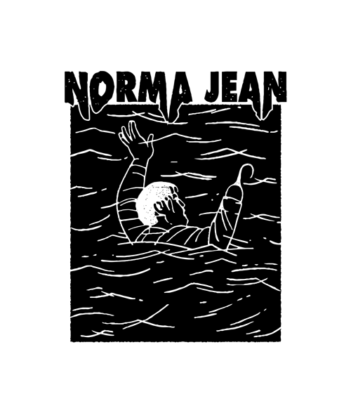 Drowning Norma Jean T Shirt