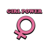 Girl Power Logo T Shirt