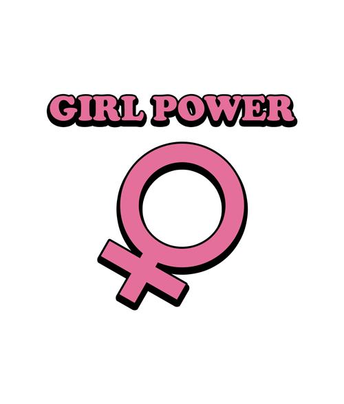 Girl Power Logo T Shirt