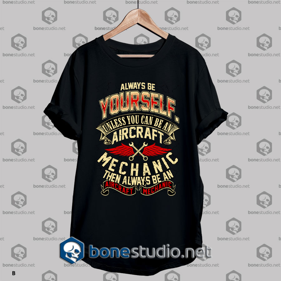Mechanic Style Aircraft Mechanic T shirt