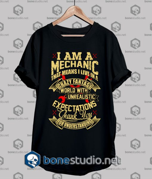 Mechanic Style Crazy Fantasy T shirt