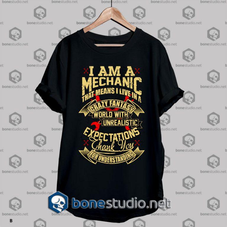 Mechanic Style Crazy Fantasy T shirt