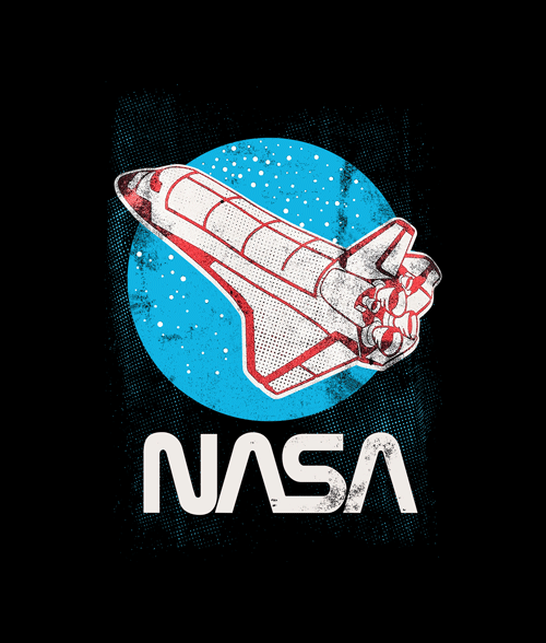 Nasa Retro T Shirt