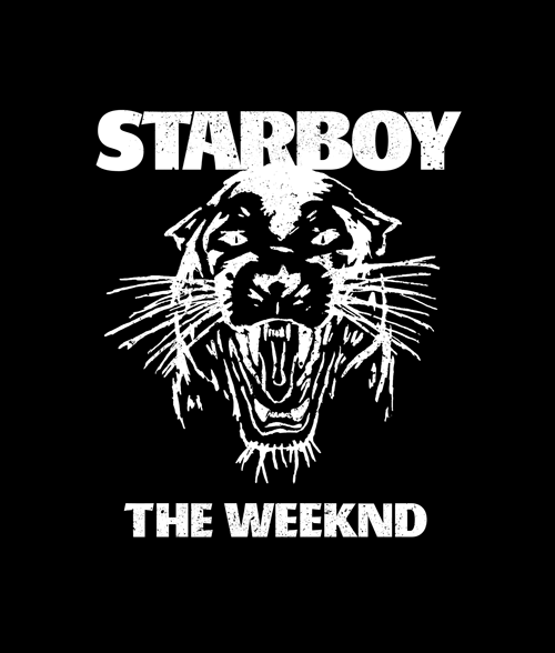 Starboy The Weeknd T Shirt