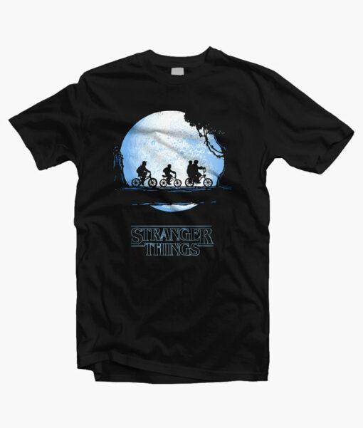 Stranger Things T Shirt Dark