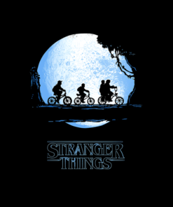 Stranger Things T Shirt Dark