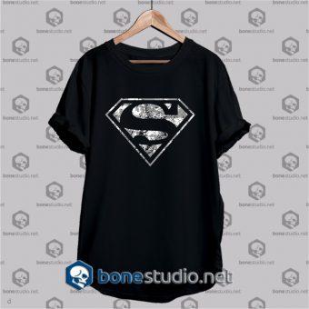 Superman classic logo unisex t shirt