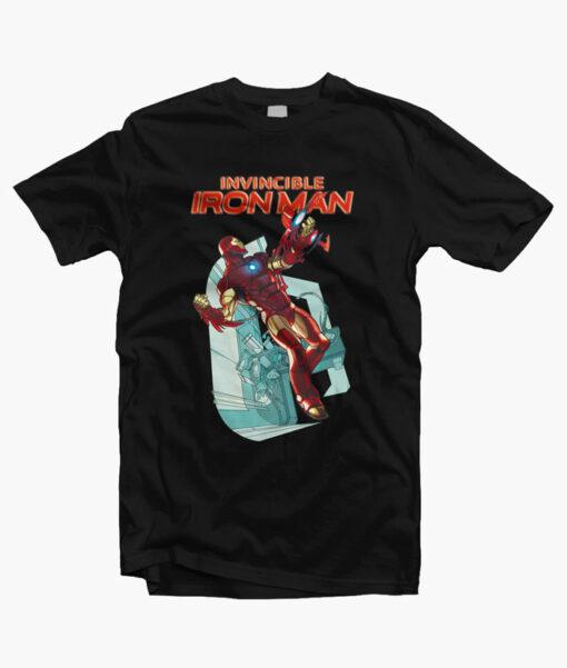 The Invincible Iron Man T Shirt