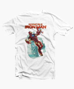 The Invincible Iron Man T Shirt