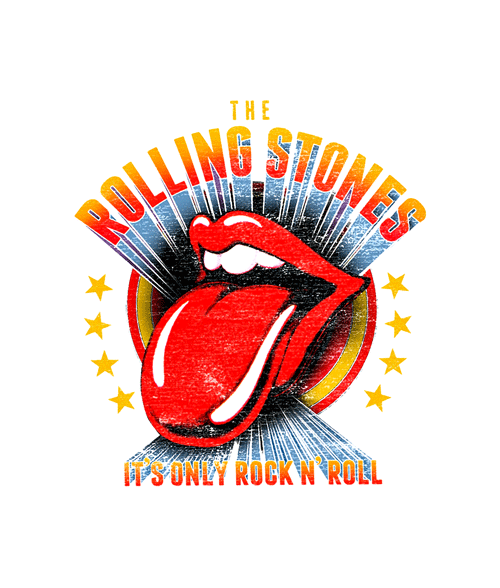 The Rolling Stones T Shirt Logo