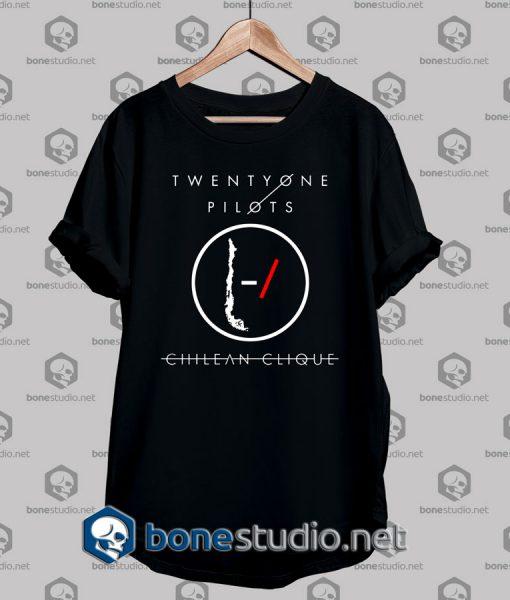 Twenty One Pilots Chilean Clique Tshirt