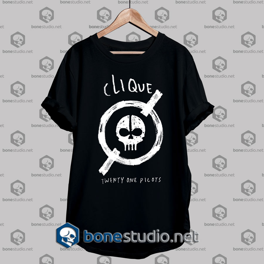 Twenty One Pilots CliqueTshirt Designs,Twenty One Pilots CliqueTshirt Mens,Twenty One Pilots CliqueTshirt Womens,Twenty One Pilots CliqueT-Shirt Adult unisex,Twenty One Pilots Cliqueshirt
