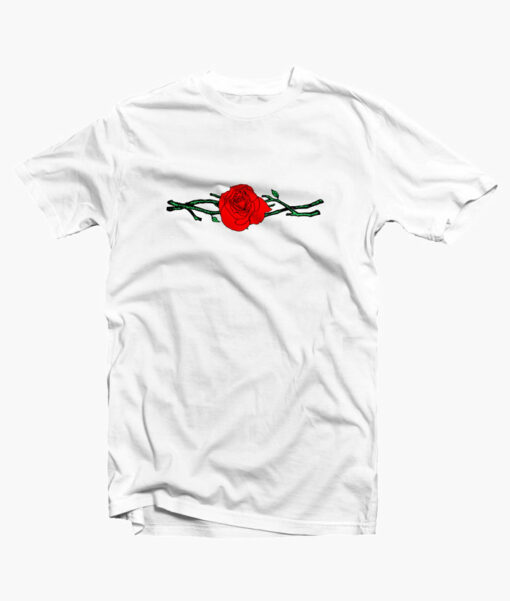 Twigs Rose T Shirt