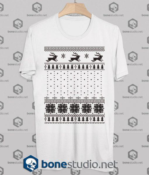 Ugly Christmas Tee Shirts Sweater Style