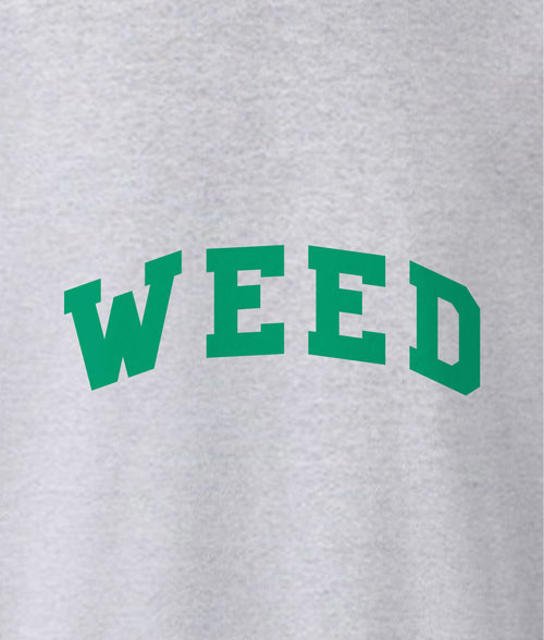 WEED T Shirt Green