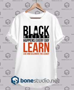 black history quote t shirt