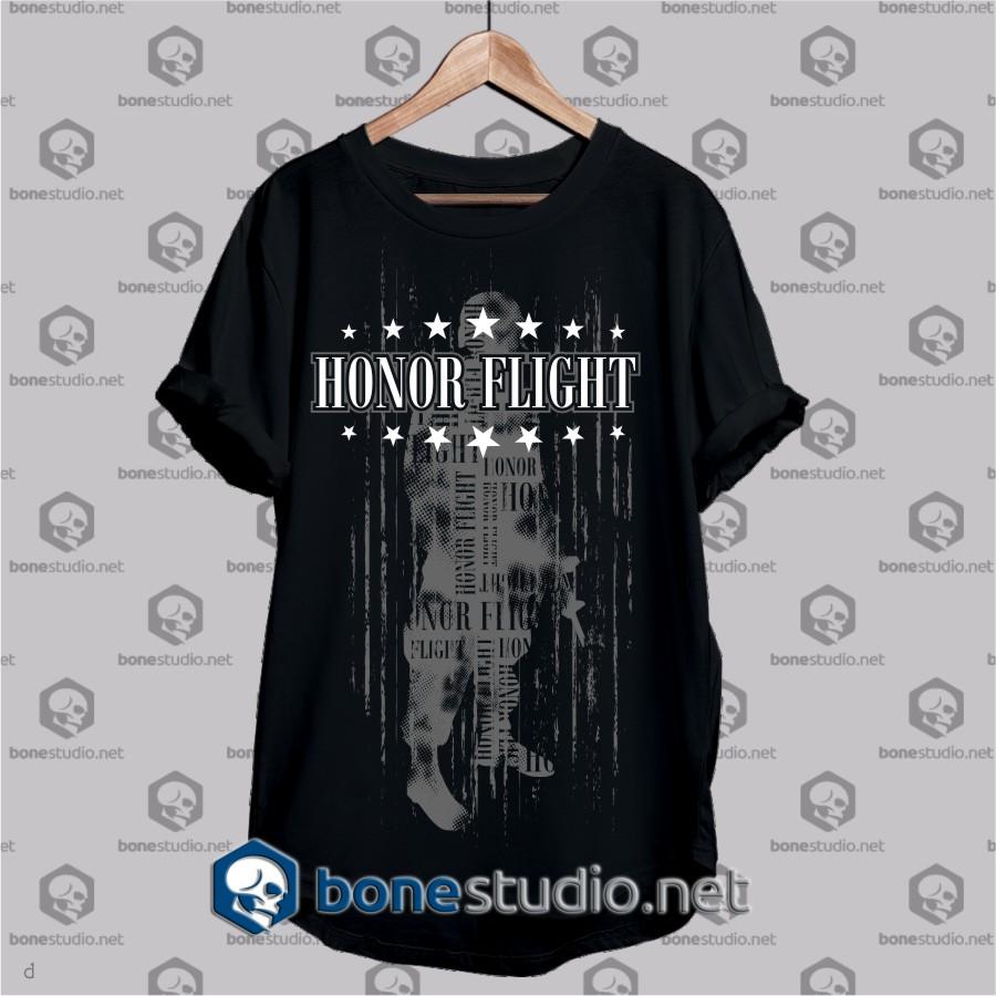 honor flight army t shirt