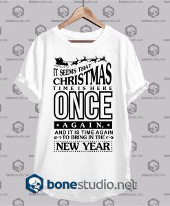 it seems that christmas t shirt