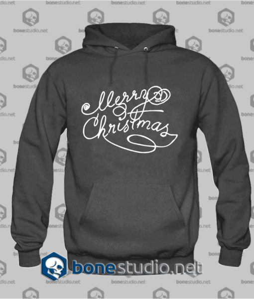 Merry Christmas freehand Hoodies