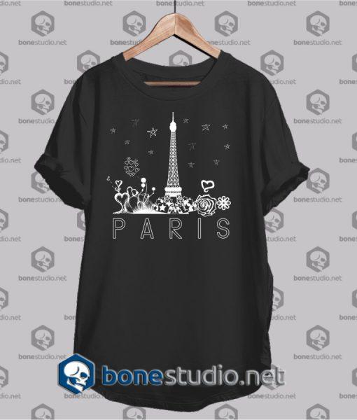 paris city t shirt