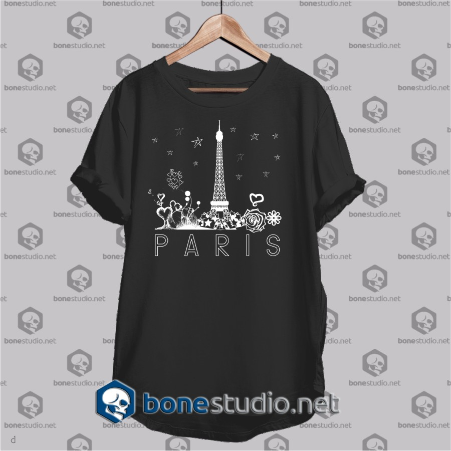 paris city t shirt