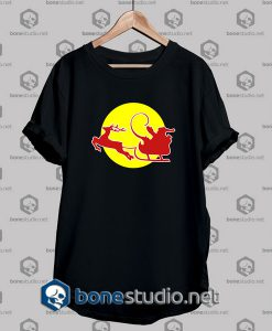 santa klaus red bull is coming tshirt