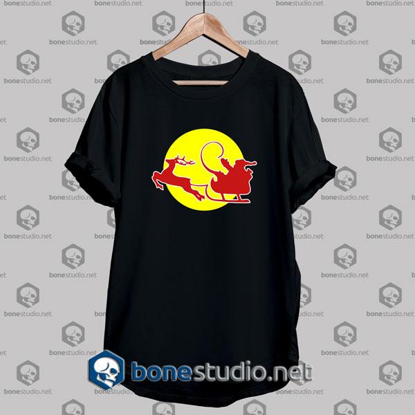 santa klaus red bull is coming tshirt